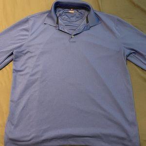 Van Heusen Long Sleeve Polo Size Large